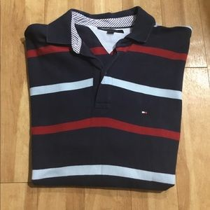 Tommy Hilfiger Short Sleeve Collar Shirt L